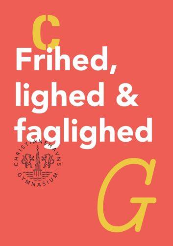 Frihed, lighed & faglighed