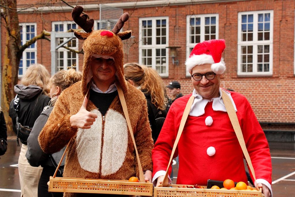 Juleafslutning ´18, Rudolf og den skæggede nissepige
