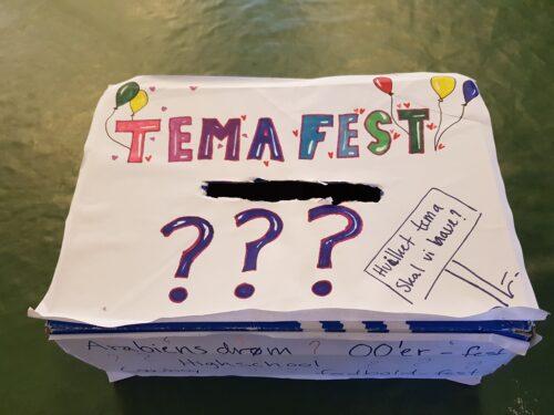Temafest - forslagskasse