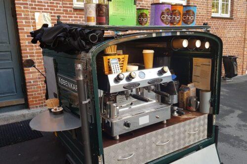 Plastik og Christianfri kaffeknallert