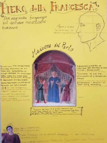 Poster - renæssancemennesket Francesca