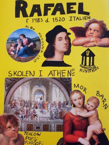 Poster - renæssancemennesket Rafael