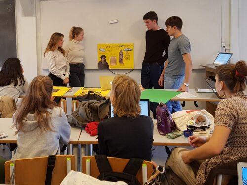Gruppepræsentation - renæssancemennesket da Vinci