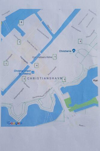 Skattejagt - kort over Christianshavn