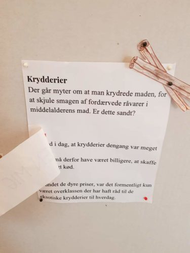 Krydderier var kostbare, da Christianshavn blev anlagt for 400 år siden. Det er en myte, at krydderier blev brugt til at gøre fordærvede madvarer mindre uappetitlige