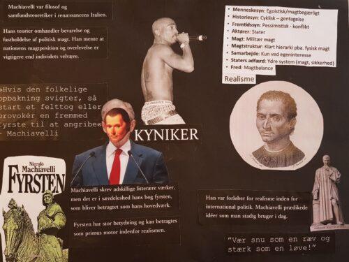 Poster - renæssancemennesket Machiavelli