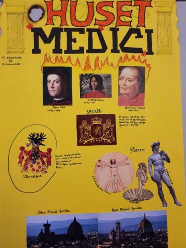 Poster - renæssancemennesket Medici