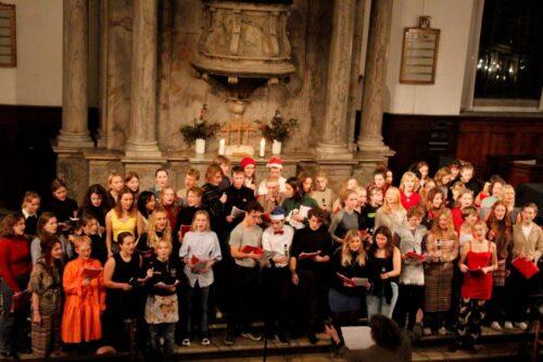 Julekoncert - korsang