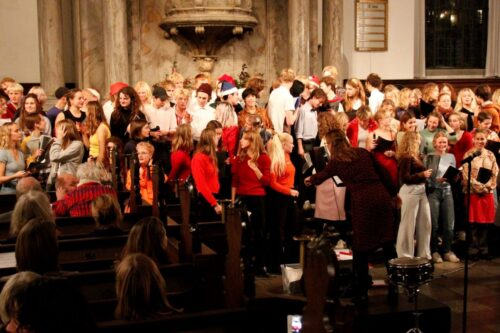 Julekoncert - omorganisering