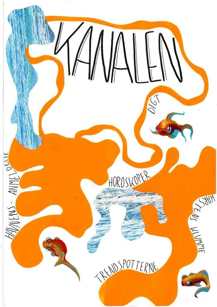 Skolebladet KANALEN - årgang 1, nummer 2 - forside
