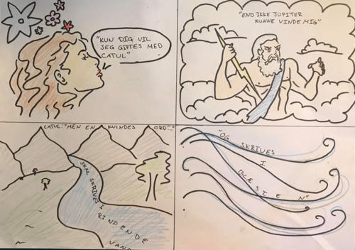 Catul digt 70 ifølge Alberte