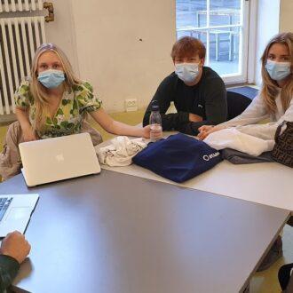 Amerikanske DIS studerende aflægger besøg på CG