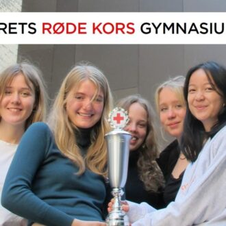 CGs Røde kors ambassadører i Anneksgården