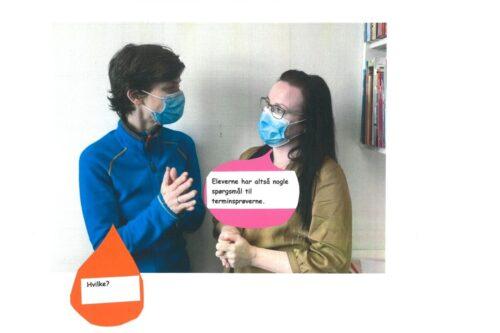 Julie og Louise besvarer spørgsmål om terminsprøver - 01