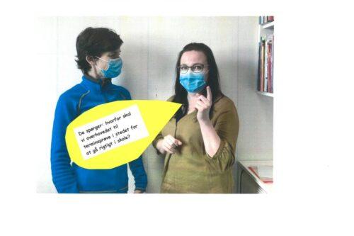 Julie og Louise besvarer spørgsmål om terminsprøver - 02