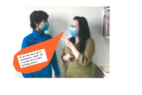 Julie og Louise besvarer spørgsmål om terminsprøver - 04