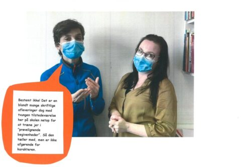 Julie og Louise besvarer spørgsmål om terminsprøver - 08