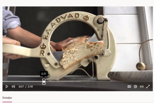 Raadvad brødskærer