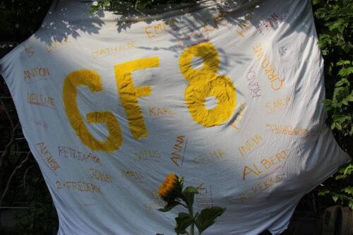 GF8 banner byder velkommen